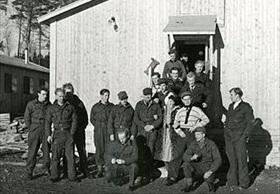 Norway in World War II: Norwegian police training camps in Sweden