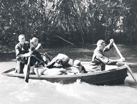 Girau River, Buna, New Guinea, 1942