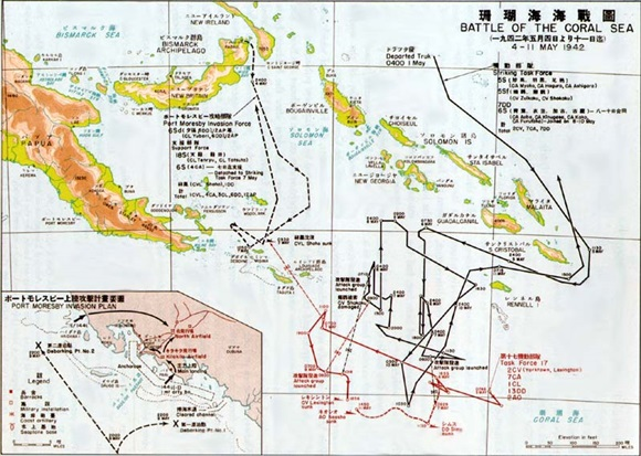 Port Moresby Invasion/Battle of Coral Sea