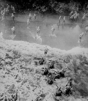 Battle of Cape Gloucester: Cape Gloucester landings, December 1943