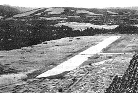 Japanese airfield at Lunga Point under construction, July 1942