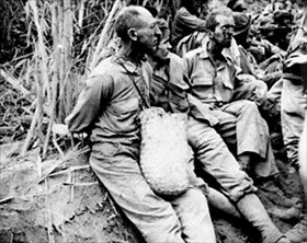 POWs on Bataan Death March