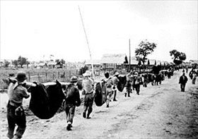Bataan death march: Camp O'Donnell burial detail