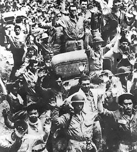 Bataan death march: Bataan surrender, April 9, 1942