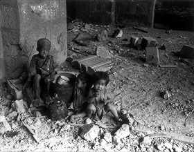 Battle of Manila: Intramuros orphans, 1945