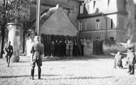 SS execution of Poles in Kórnik, October 20, 1939