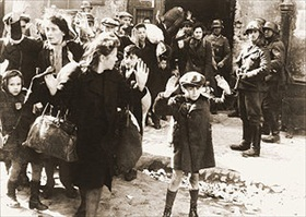 Warsaw ghetto captives