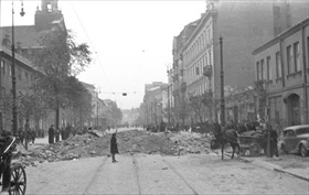 Warsaw street, September or October 1939