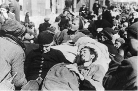Warsaw Uprising: Poles emerge from hiding places, October 1944