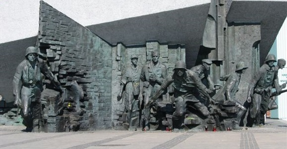 Warsaw Uprising Memorial, Old Town