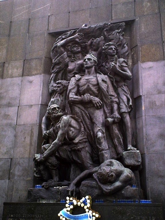Warsaw's Ghetto Heroes Monument