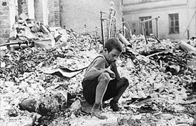 Warsaw child survivor, September 1939