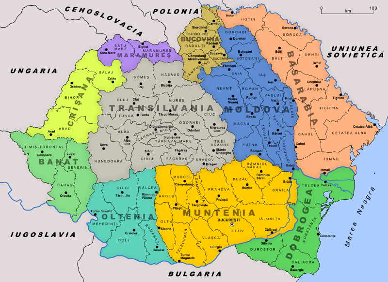 Greater Romania, 1930