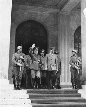 Hitler and Antonescu, Munich, June 1941
