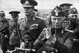 King Mihai I (left) and Gen. Ion Antonescu