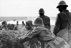 Romanian troops in the Don-Stalingrad area, mid-1942