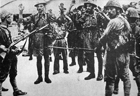 Suffolk Regiment surrendering