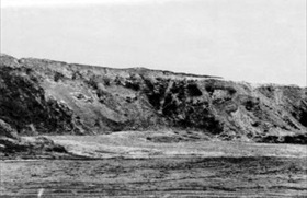 Spot where the cremation took place, Babi Yar, Fall 1943