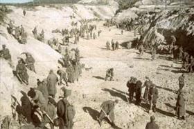 Babi Yar burying detail, Kiev, October 1941