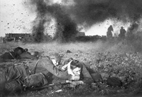 Fighting near Moscow, September 21, 1941