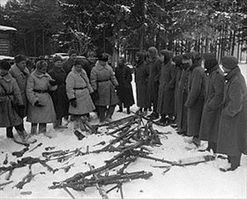Remains of defeated Nazi unit, December 20, 1941