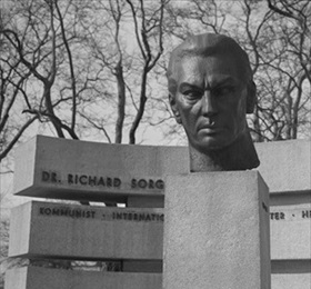 Richard Sorge bust, Dresden, Germany