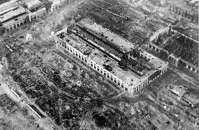 Bombed factory, Stalingrad, November 1942
