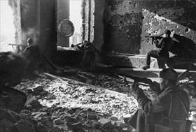 Battle of Stalingrad: Soviet snipers, October 1942