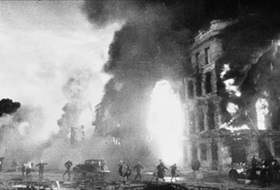 Stalingrad firestorm, late August 1942