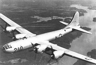 Four-engine B-29 Superfortress