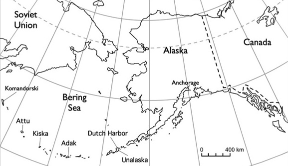 Us And Canada Map Aleutian Island The Battle of Attu: Retaking the U.S. Aleutians, May 1943   World