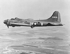 Aphrodite B-17F that targeted Mimoyecques, Northern France