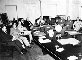 First Washington Conference (Arcadia Conference), late 1941 to mid-January 1942