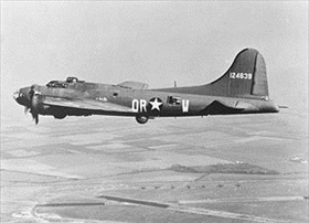 U.S. Eighth Air Force Boeing B-17 Flying Fortress