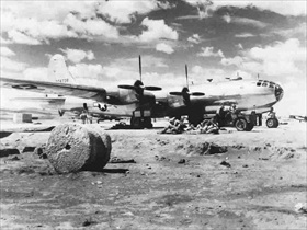 Operation Matterhorn: 40th Bombardment Group B-29, Hsinching Airfield, China, 1944