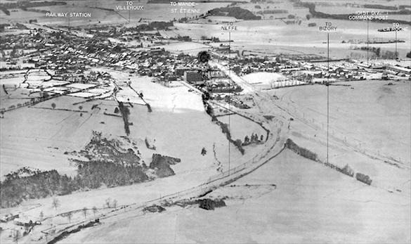 Bastogne crossroads, winter 1944–45