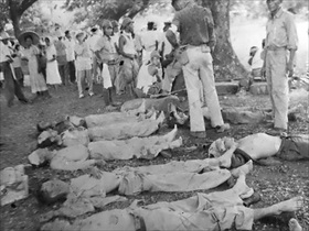 Japan invades Philippines: Bataan Death March dead