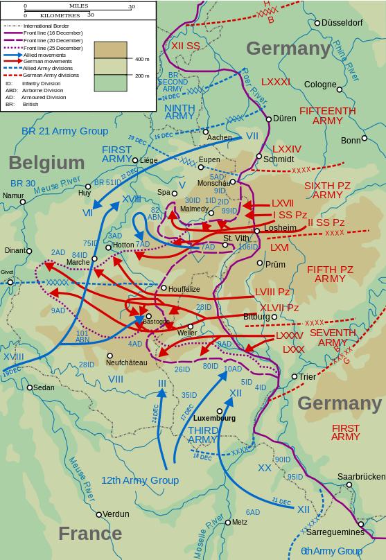 German Ardennes Offensive