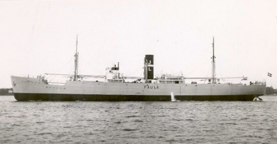 """Battle of the Atlantic: Panamanian-flagged freighter """"Montana,"""" sunk 9-11-41"""