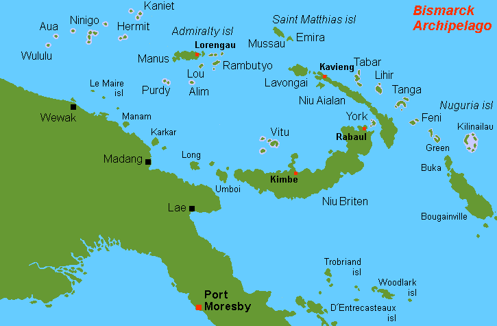 Bismarck Archipelago, Southwest Pacific