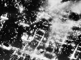 Braunschweig burning, October 14/15, 1944