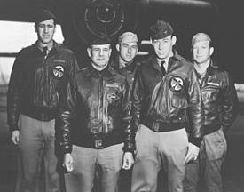 Doolittle Raiders, Crew 1, with Lt. Col. Jimmy Doolittle