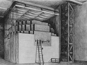 Sketch of Chicago Pile-1, November 1942