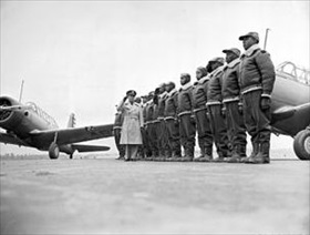 Tuskegee Airmen: First class of Tuskegee cadets, Tuskegee, Alabama, 1941