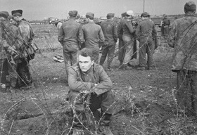 Operation Shingle, German POWs, Anzio, Italy