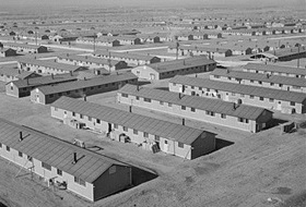 Japanese American relocation camp near Granada, Colorado