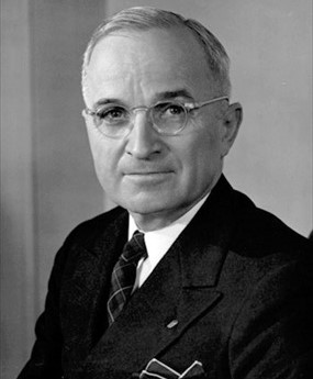 Potsdam Declaration: U.S. President Harry S. Truman