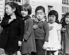 Pledge of Allegiance, San Francisco, April 1942