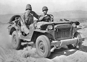 Willys MA, Desert Training Center, Indio, CA, June 1942