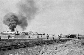 Operation Shingle, Anzio landing, Italy, late January 1944